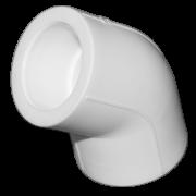 Угол 45° из полипропилена. Цвет белый. Диаметр 32 мм.Соединение PPR-PPR. В упаковке 40 штук.