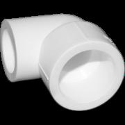 Угол 90° из полипропилена переходной. Цвет белый. Диаметры 25/20 мм.Соединение PPR-PPR. В упаковке 60 штук.