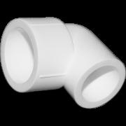Угол 90° из полипропилена переходной. Цвет белый. Диаметры 32/20 мм.Соединение PPR-PPR. В упаковке 50 штук.