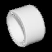Заглушка из полипропилена. Цвет белый. Диаметр 25 мм.Соединение PPR-PPR. В упаковке 150 штук.