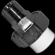 Муфта комбинированная разъемная TAUPLAST с внешней резьбой (Американка). Артикул H32-1M
