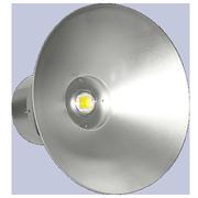 Светильник светодиодный для промышленных помещений. Напряжение 220V (AC 85-265V). Мощность 80 Вт. Холодный белый свет. Вес 4.58 кг. Размеры 450·380 мм.