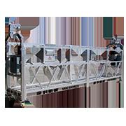 Фасадный подъёмник  ZLP 630 HAOKE (алюминий). Длина 6 м. Грузоподъёмность 630 кг. Максимальная высота 100м. Напряжение 380 вольт.